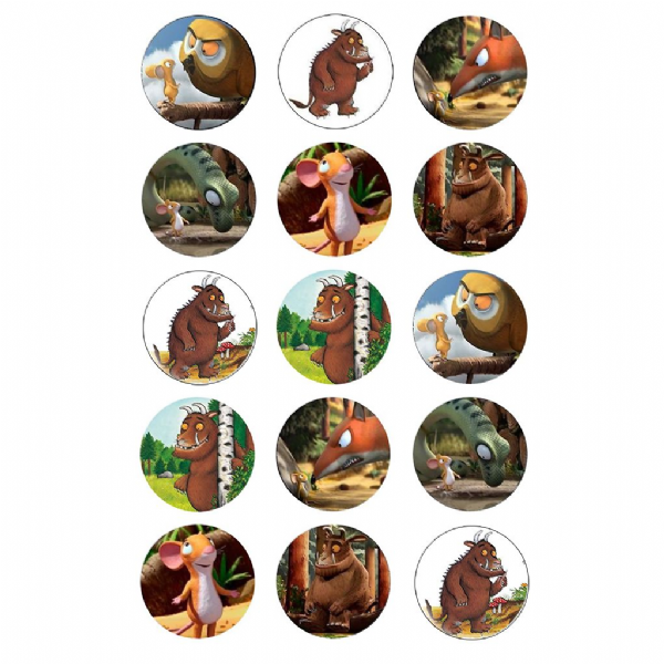 THE GRUFFALO CUPCAKE TOPPERS